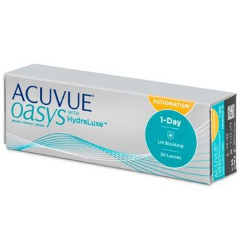 Acuvue 1 Day Oasys Toric 30 PK