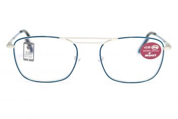 Airport Ready Reader-1565 2137 Blue with Blue Light Filter