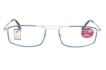 Airport Ready Reader-1575 2137 Blue with Blue Light Filter