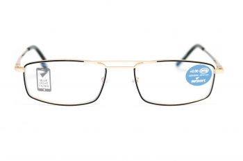 Airport Ready Reader-1575 2254 Black with Blue Light Filter