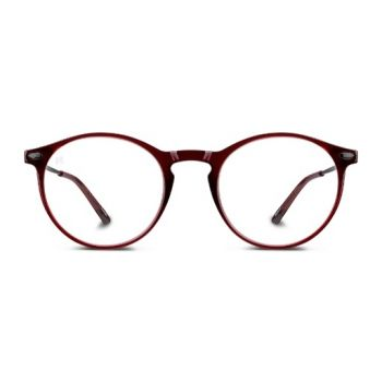 Nooz Cruzy Red Frame With Blue Light Block - Size 45