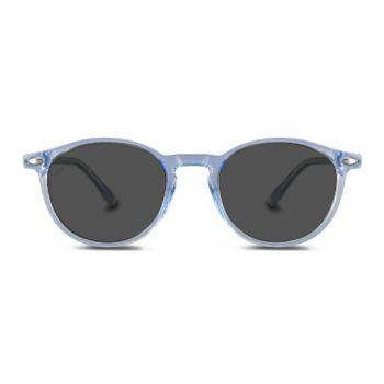 Nooz Cruz Light Blue Polarized Sunglasses- Size 45