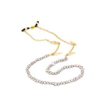 Sunny Cords Grey Sunglass Chain - Bead It Pearl